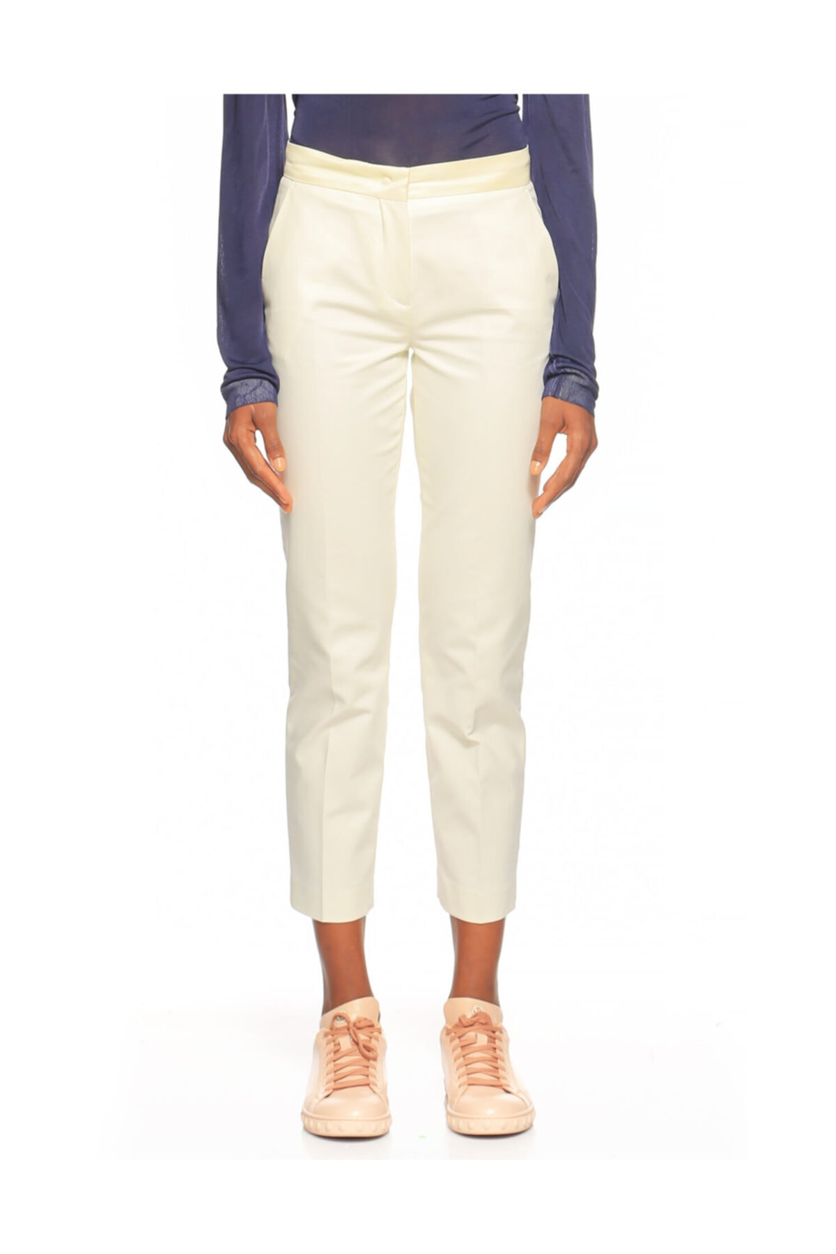 Kadın Beyaz Pantolon