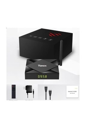 Wechip Tanix Tx6s 4g/32g Android 10.0 Dual Wifi Bluetooh Android Tv Box 4