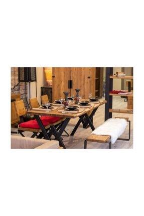 NT Concept Ntconcept Masif Ağaç Yemek Masası - 85cm-200cm Masa 1