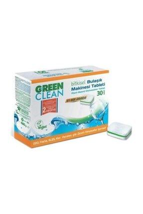 Green Clean Bitkisel Bulaşık Makinası Tableti 30 Adet 8690588005546 1