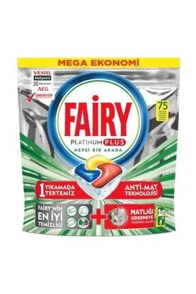 Fairy Platinum Plus Bulaşık Makinesi Deterjanı Kapsülü 75 Yıkama 0