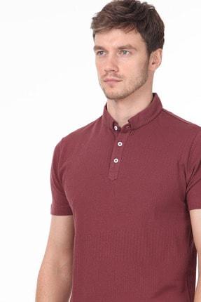 Ramsey Erkek Gül Kurusu Jakarlı Örme T - Shirt RP10119895 1