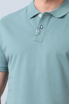 Ramsey Erkek Açık Yeşil Örme T - Shirt RP10119916 2
