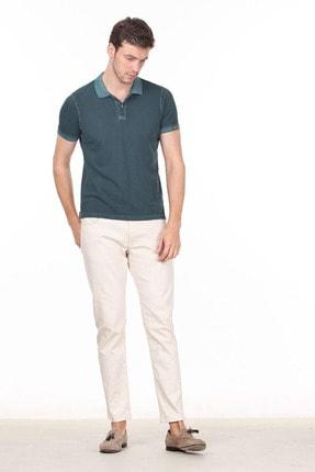 Ramsey Erkek Yeşil Düz Örme T - Shirt RP10120144 2