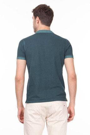 Ramsey Erkek Yeşil Düz Örme T - Shirt RP10120144 3