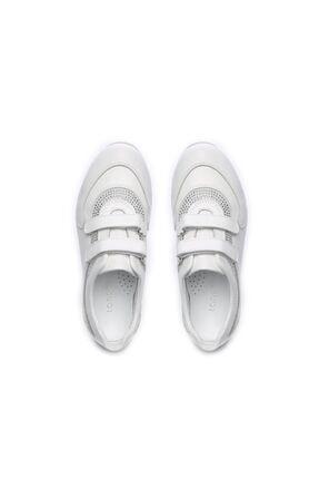 Kemal Tanca Kız Çocuk  Beyaz Deri Ayakkabı 406 3114 CCK 26-36 Y19 3