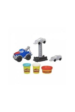 Hasbro Play Doh Çalışkan Çekici Kamyon E6690 0