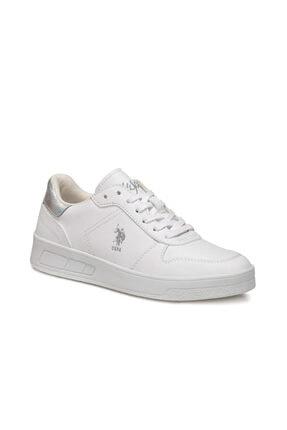 US Polo Assn Stıll Beyaz Kadın Sneaker 0