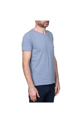 White Stone Nagoya Sıfır Yaka Slim Fit T-shirt Laci 1