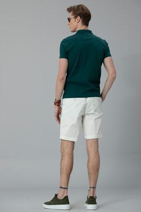 Lufian Laon Spor Polo T- Shirt Koyu Yeşil 3