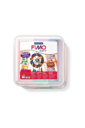 Staedtler Staedtler Fimo Soft Sınıf Seti 26 Renk X 57 gr. + Aksesuarlar 0