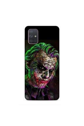 Pickcase Samsung Galaxy A71 Kılıf Desenli Arka Kapak Renkli Jokker 0