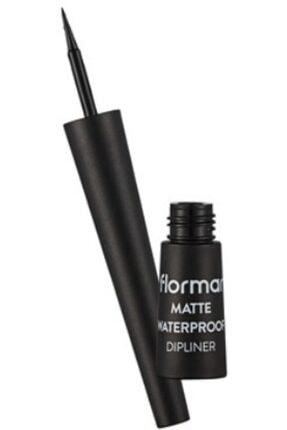 Flormar Mat Siyah Dipliner - Waterproof 8690604536481 0