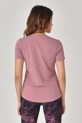 bilcee Pembe Büyük Beden Kadın T-Shirt GS-8131 3