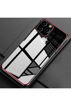 Zipax Apple Iphone 11 Pro Kılıf Zippy Dört Köşeli Lazer Silikon 0