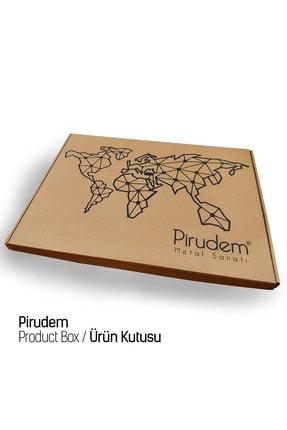 Pirudem Hz.muhammed (s.a.v)  Metal Duvar Dekoru  40x70 cm 3