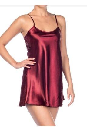 jacobmaeln Kadın Güpürlü Saten Gece Elbise 10101 0