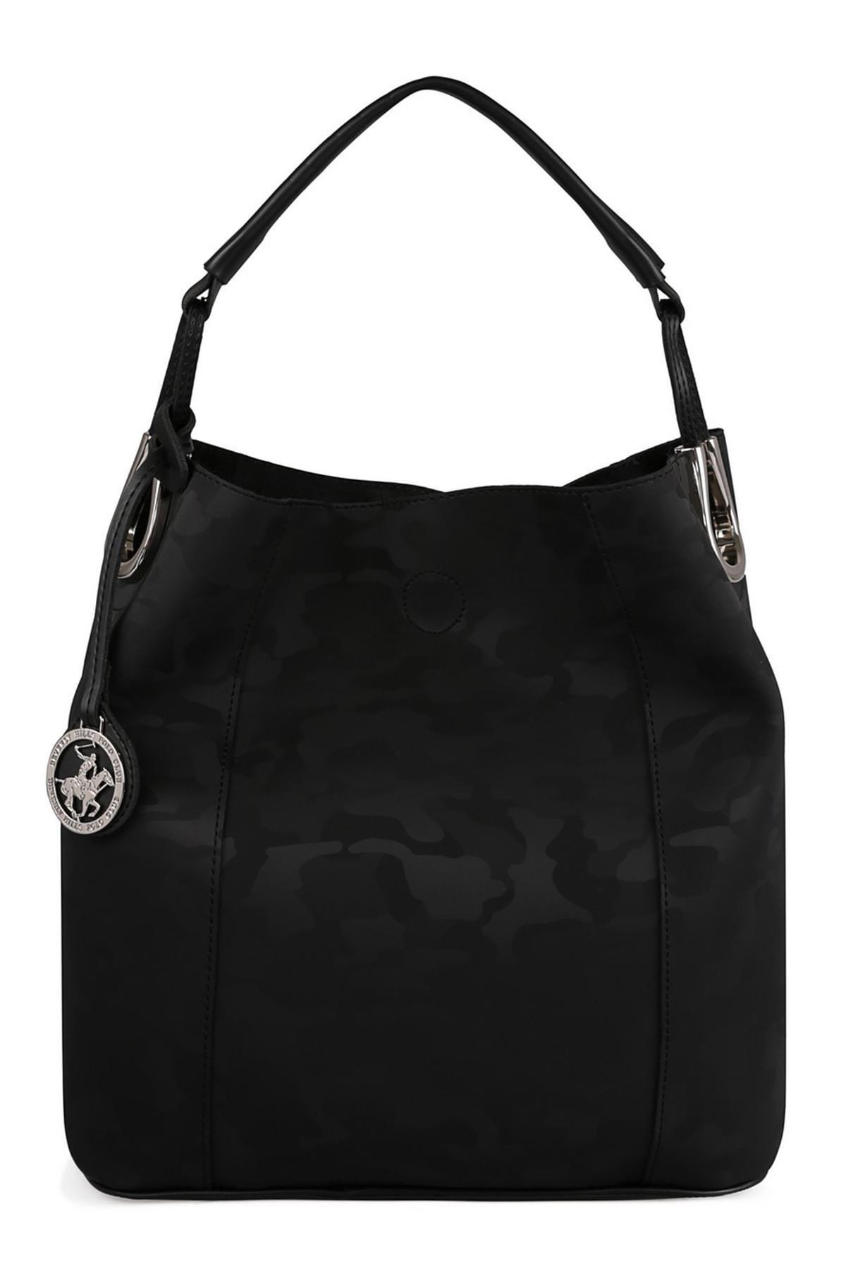 Beverly Hills Polo Club Kadın El ve Omuz Çantası Siyah 1