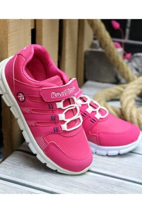 Trendway Kız Çocuk Pembe Spor Ayakkabı 0