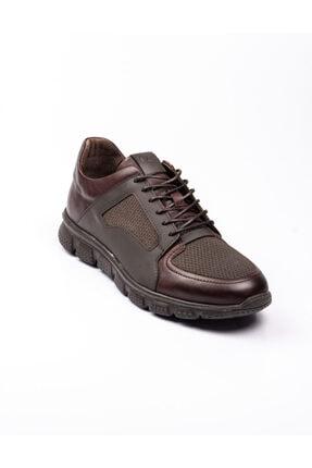 Libero 3599 Faylon Kahverengi Deri Erkek Günlük Ayakkab Kahverengi-42 0