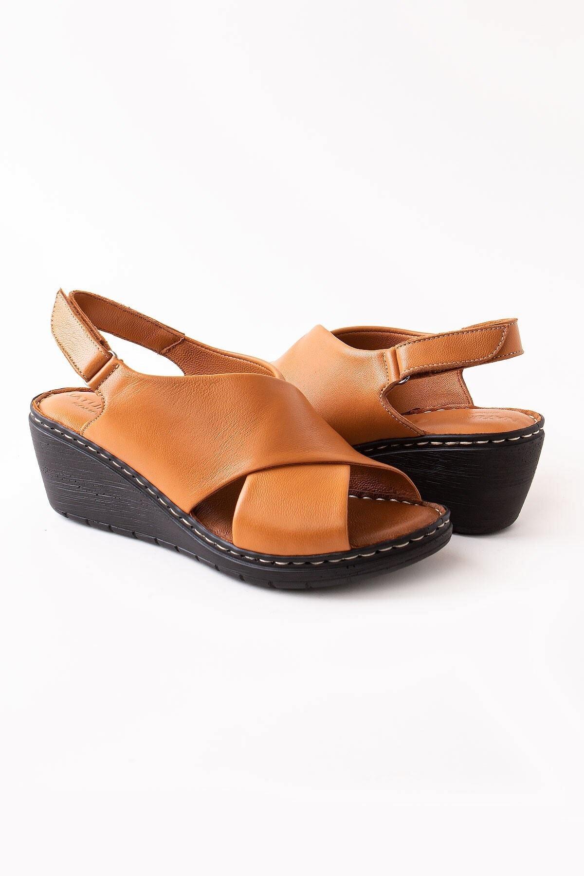Modaviki Kadın Kahverengi Ayakkabı