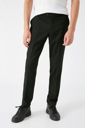 Koton Erkek Siyah Desenli Jeans 1KAM49540KW 2