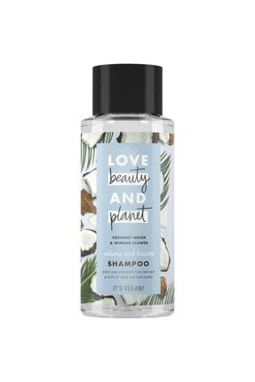 Love Beauty and Planet Hindistan Cevizi Suyu Ve Mimoza Çiçeği Özlü Şampuan 400 Ml 0