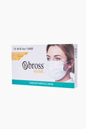 Bross 50'li Cerrahi Maske 0