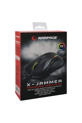 Rampage X-jammer Smx-r47 Usb Siyah Rgb Işıklı 7200 Dpi Gaming Oyuncu Mouse 4