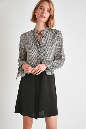 TRENDYOLMİLLA Çok Renkli Gömlek Elbise TWOAW21EL1490 2