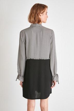 TRENDYOLMİLLA Çok Renkli Gömlek Elbise TWOAW21EL1490 4