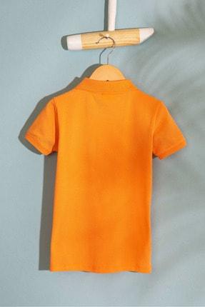 US Polo Assn Turuncu Erkek Cocuk T-Shirt 1