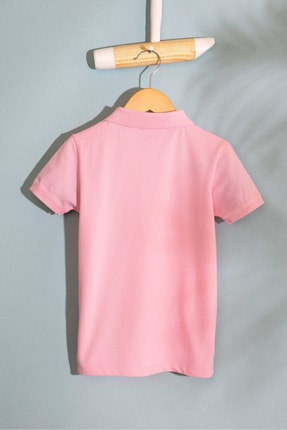 US Polo Assn Pembe Erkek Cocuk T-Shirt 1