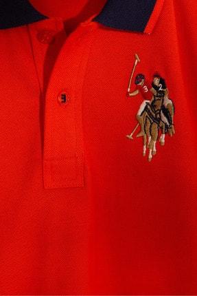 US Polo Assn Kirmizi Erkek Çocuk T-Shirt Basic 2
