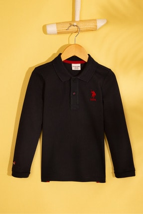 US Polo Assn Lacivert Erkek Çocuk Sweatshirt 0