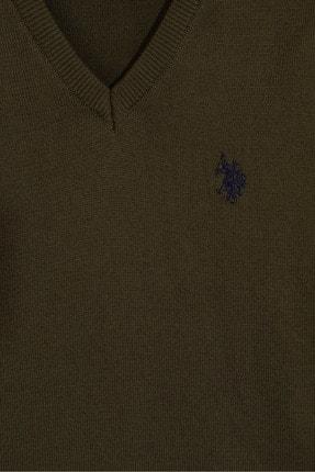 US Polo Assn Yesil Erkek Çocuk Triko Kazak 2