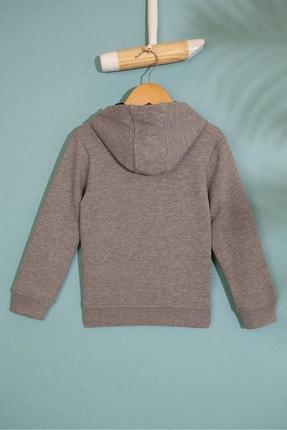 US Polo Assn Grı Erkek Cocuk Sweatshirt 1