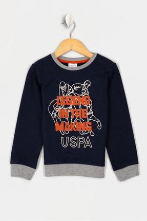 US Polo Assn Lacıvert Erkek Çocuk Osto-E Sweatshirt 0