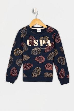 US Polo Assn Lacıvert Erkek Çocuk Terra-E Sweatshirt 0