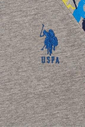US Polo Assn Grı Melanj Erkek Cocuk Sweatshirt 2