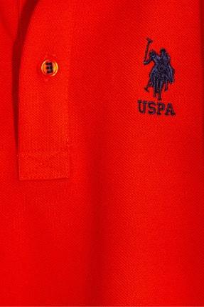 US Polo Assn Turuncu Erkek Cocuk T-Shirt 2