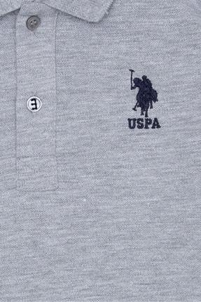 US Polo Assn Gri Erkek Çocuk T-Shirt 2