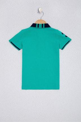 US Polo Assn Yesıl Erkek Çocuk T-Shirt 1