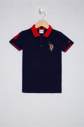US Polo Assn Lacıvert Erkek Çocuk T-Shirt 0