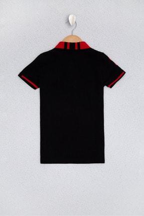 US Polo Assn Sıyah Erkek Çocuk T-Shirt 1