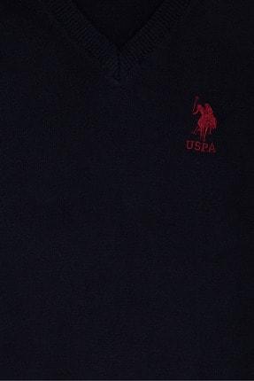 US Polo Assn Lacivert Erkek Çocuk Triko Kazak 2