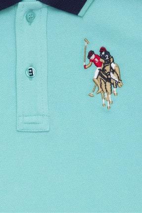 US Polo Assn Yesil Erkek Çocuk T-Shirt 2