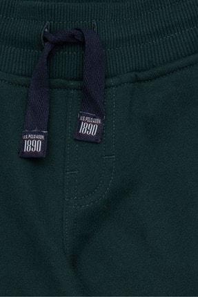 US Polo Assn Yesil Erkek Çocuk Orme Pantolon 2