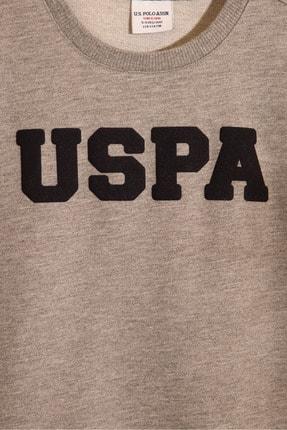 US Polo Assn Gri Erkek Çocuk Sweatshirt 2