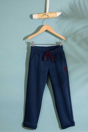 US Polo Assn Lacivert Erkek Çocuk Orme Pantolon 0